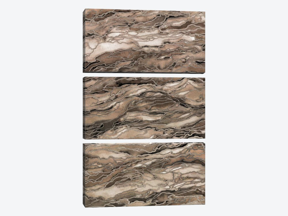 Marble Idea! - Rustic Elements by Julia Di Sano 3-piece Art Print