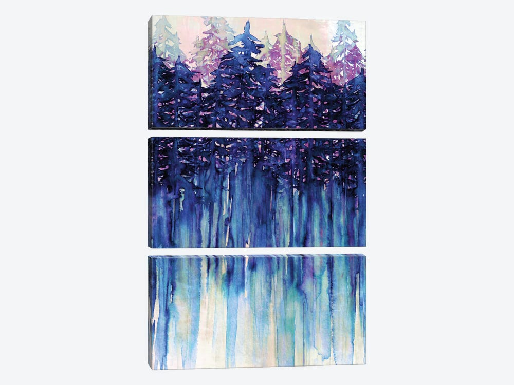 Northwest Vibes III by Julia Di Sano 3-piece Canvas Artwork