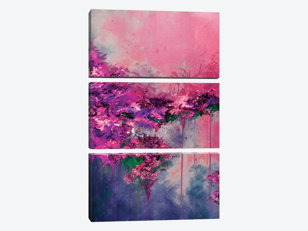 When Land Met Sky V by Julia Di Sano 3-piece Canvas Wall Art