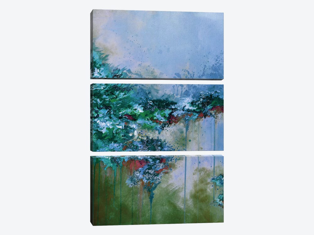 When Land Met Sky VI by Julia Di Sano 3-piece Art Print