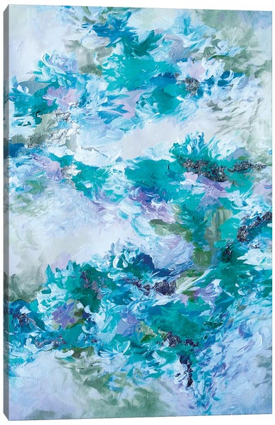When We Were Mermaids XIII Canvas Print #JDS76