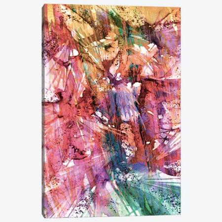 Birds Of Prey, Fashion Frenzy Canvas Print #JDS81} by Julia Di Sano Canvas Art