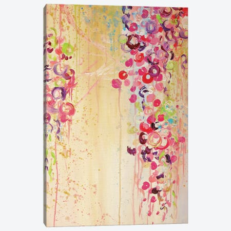 Dance Of The Sakura II Canvas Print #JDS91} by Julia Di Sano Canvas Print