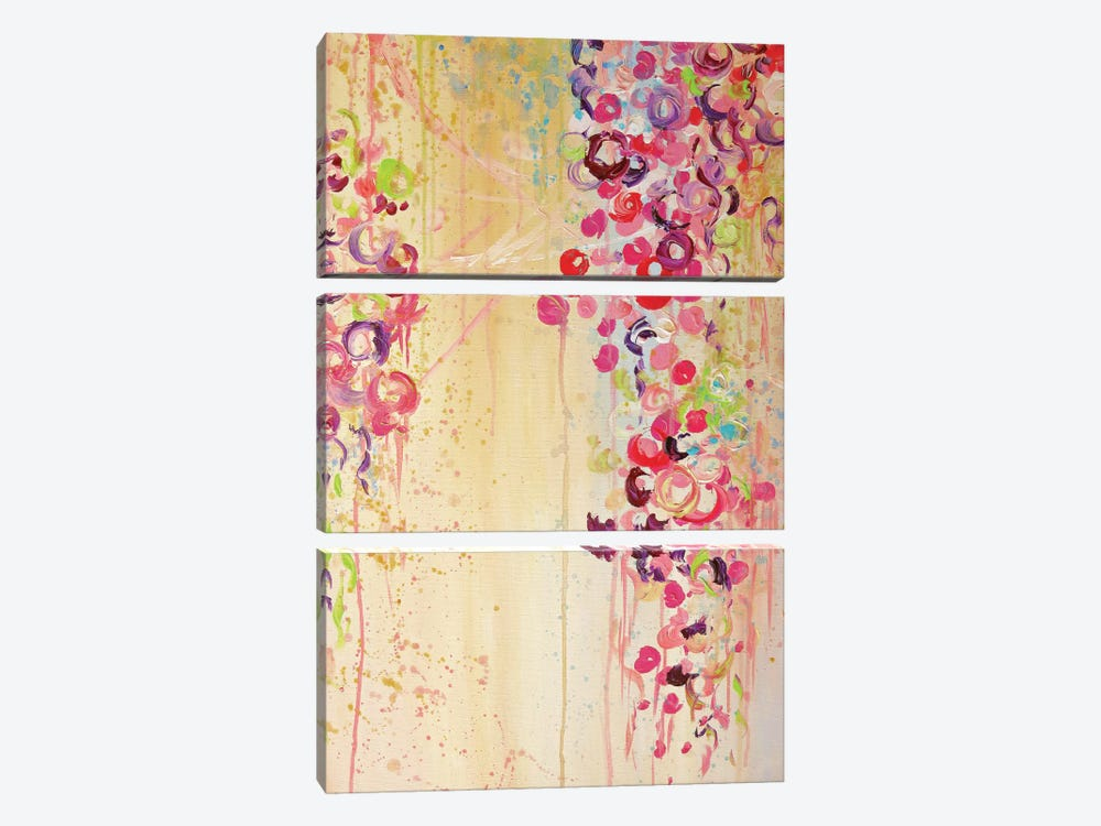 Dance Of The Sakura II by Julia Di Sano 3-piece Canvas Art