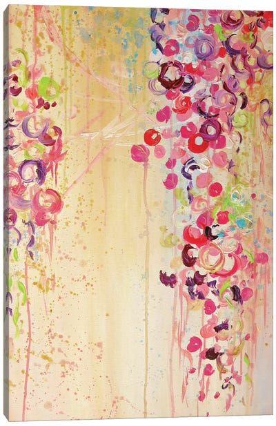 Dance Of The Sakura II Canvas Art Print