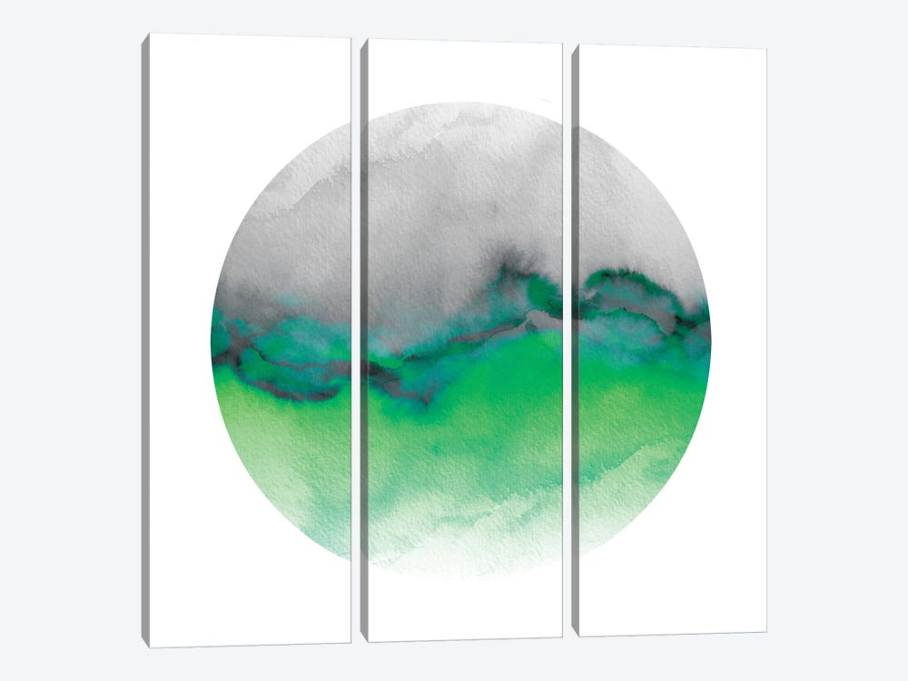 Flow IV 3-piece Canvas Print