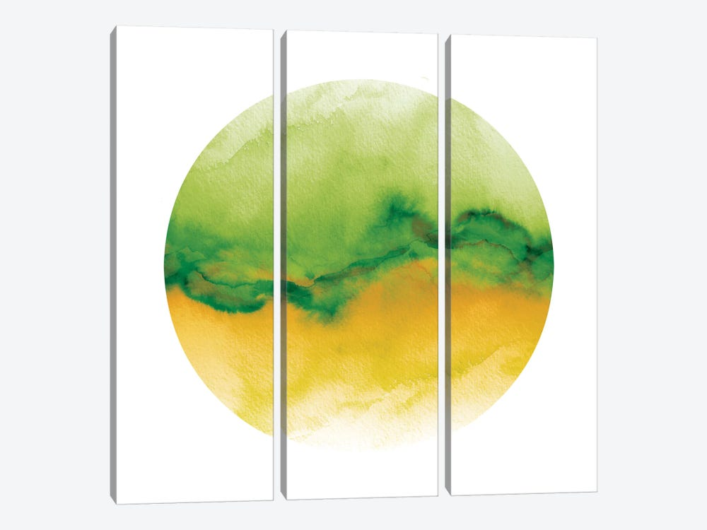Flow V by Julia Di Sano 3-piece Canvas Art