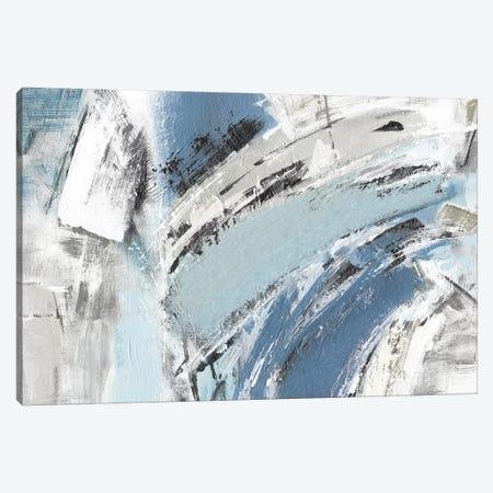 Blue Mykonos Canvas Print #JDT13} by Judith Shapiro Canvas Artwork