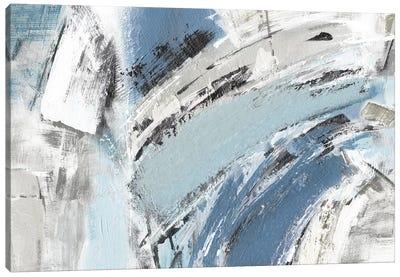 Blue Mykonos Canvas Art Print