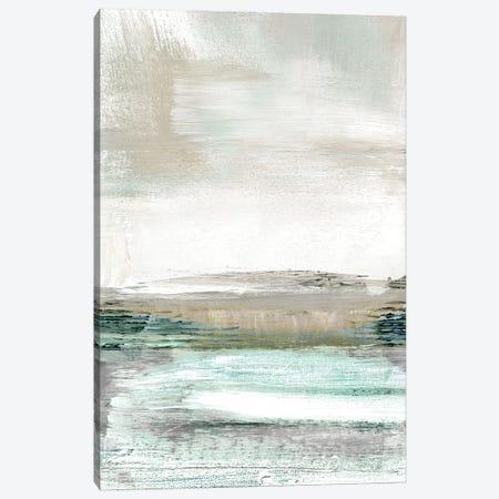 Summer Teal I Canvas Print #JDT16} by Judith Shapiro Canvas Print