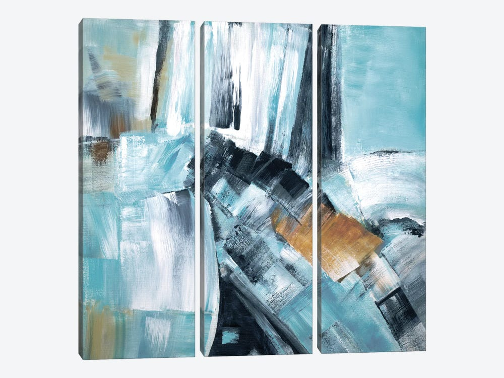 River Dance I by Judith Shapiro 3-piece Canvas Artwork