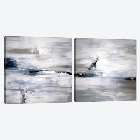 Shifting Tides Diptych Canvas Print Set #JDT2HSET001} by Judith Shapiro Canvas Wall Art