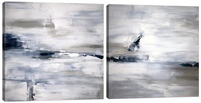 Shifting Tides Diptych Canvas Art Print