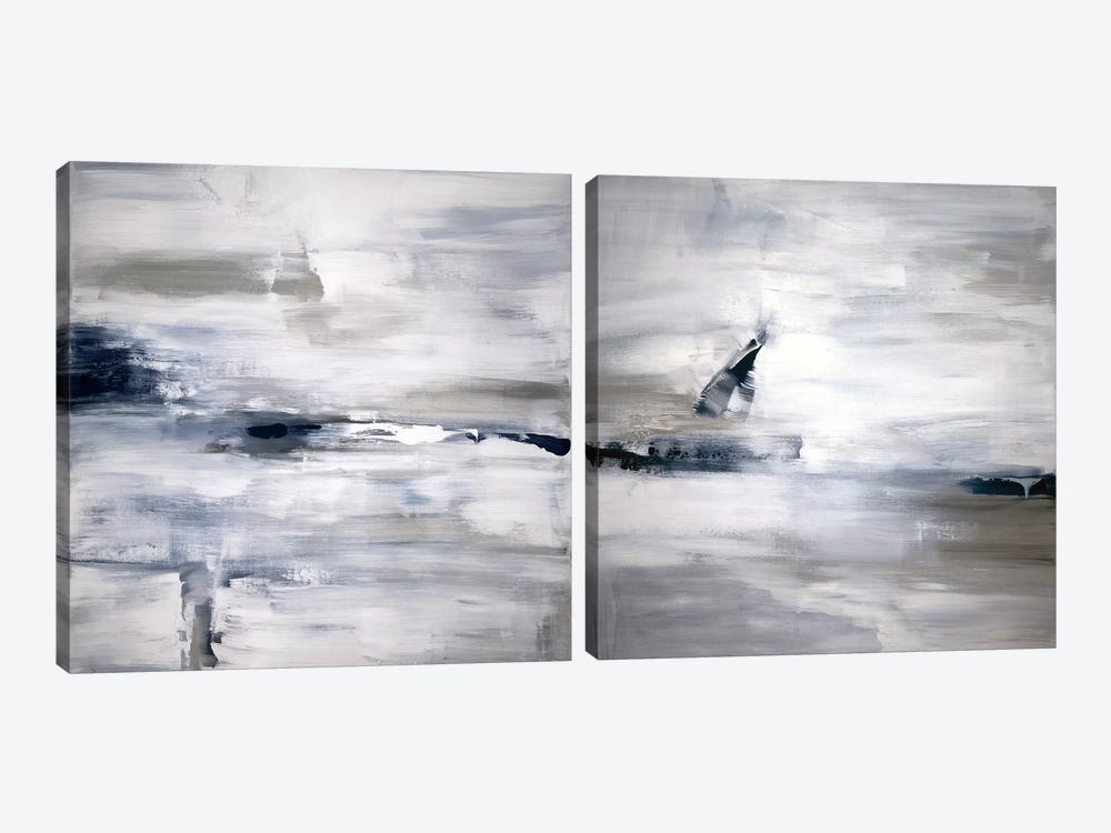 Shifting Tides Diptych by Judith Shapiro 2-piece Canvas Print