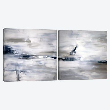 Shifting Tides Diptych Canvas Print Set #JDT2HSET001} by Judith Shapiro Canvas Wall Art