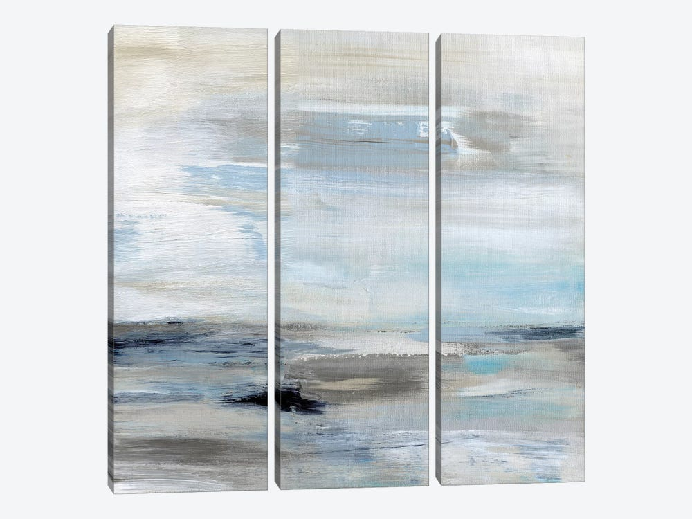 Gulf Stream by Judith Shapiro 3-piece Canvas Artwork