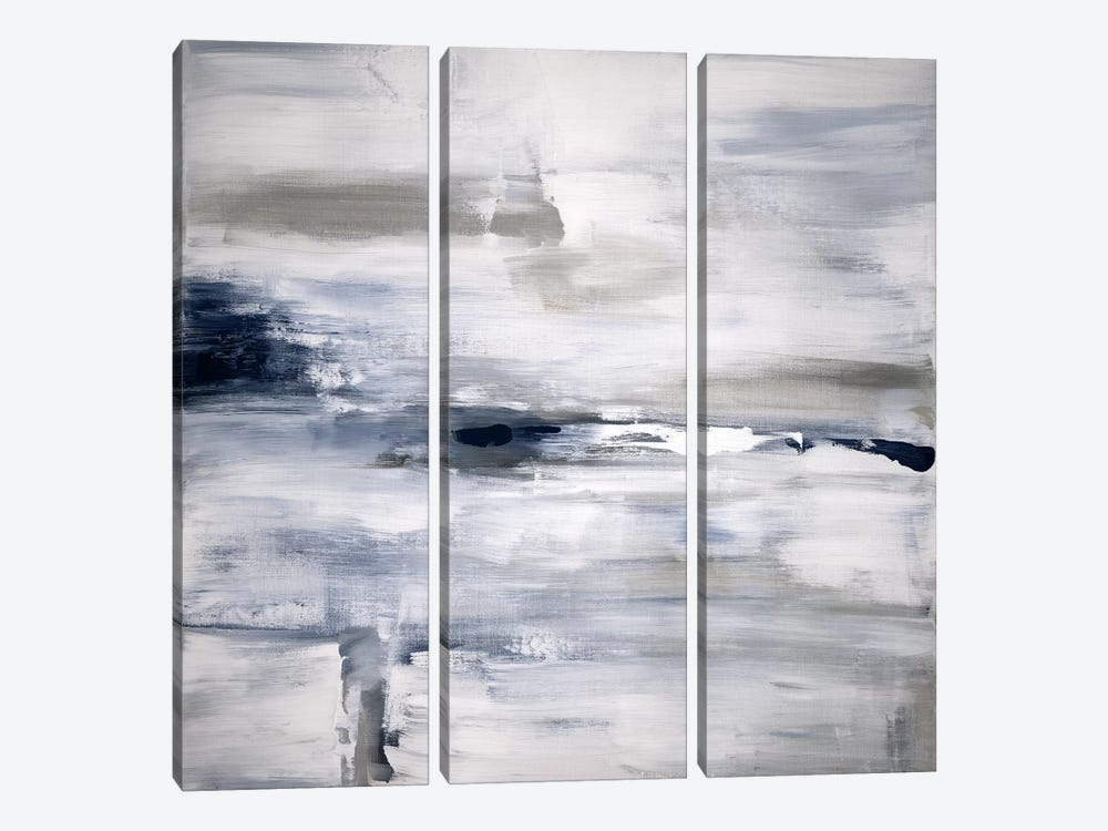 Shifting Tides I by Judith Shapiro 3-piece Canvas Art Print