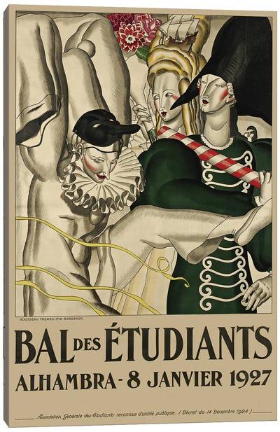 Bal des Étudiants, 1927 Canvas Art Print