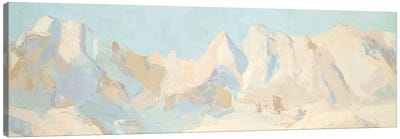 Winter Range Canvas Art Print