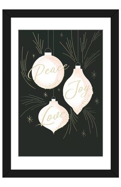 Elegant Christmas I Framed Art Print