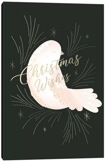Elegant Christmas II Canvas Art Print