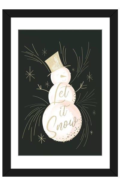 Elegant Christmas III Framed Art Print