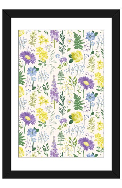 The Botanist II Framed Art Print