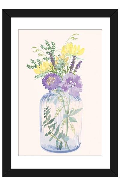 The Botanist III Framed Art Print