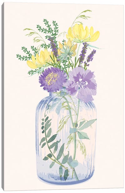 The Botanist III Canvas Art Print