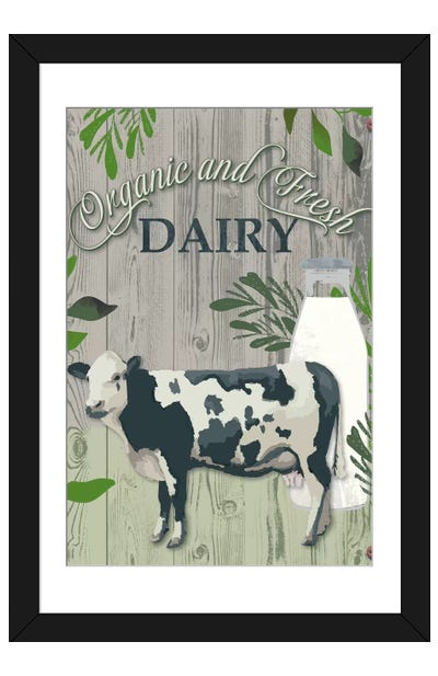 Farm To Table I Framed Art Print