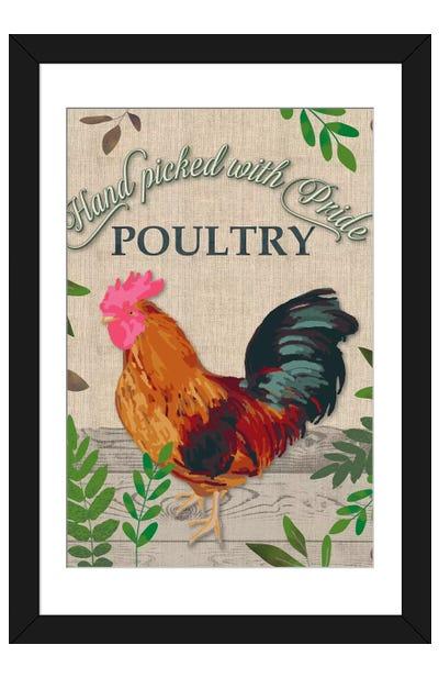 Farm To Table II Framed Art Print