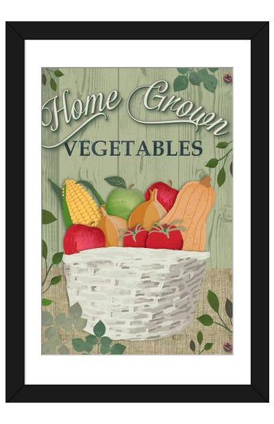 Farm To Table III Framed Art Print