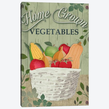 Farm To Table III Canvas Print #JEE8} by Jennifer Ellory Canvas Art Print