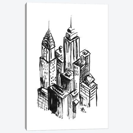 New York II Canvas Print #JEF10} by Jeff Rogers Canvas Art Print