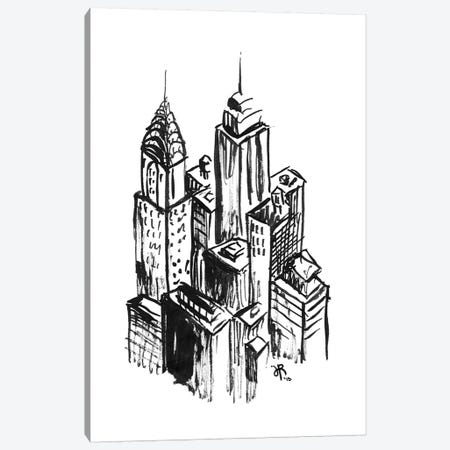 New York II Canvas Print #JEF10} by Jeff Rogers Canvas Art Print