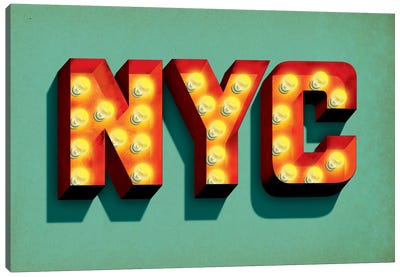 NYC Canvas Print #JEF12