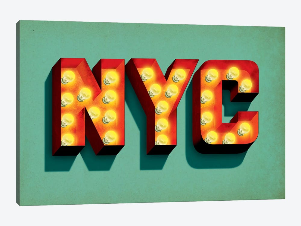 NYC by Jeff Rogers 1-piece Canvas Artwork