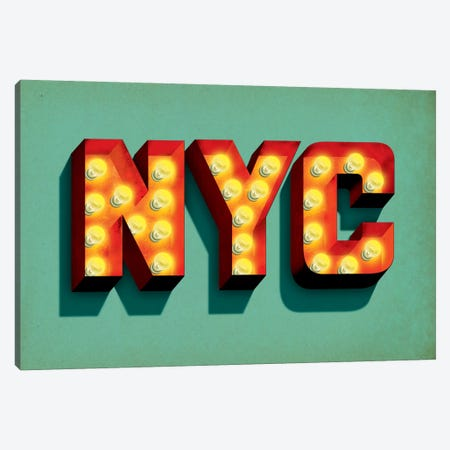 NYC Canvas Print #JEF12} by Jeff Rogers Canvas Print