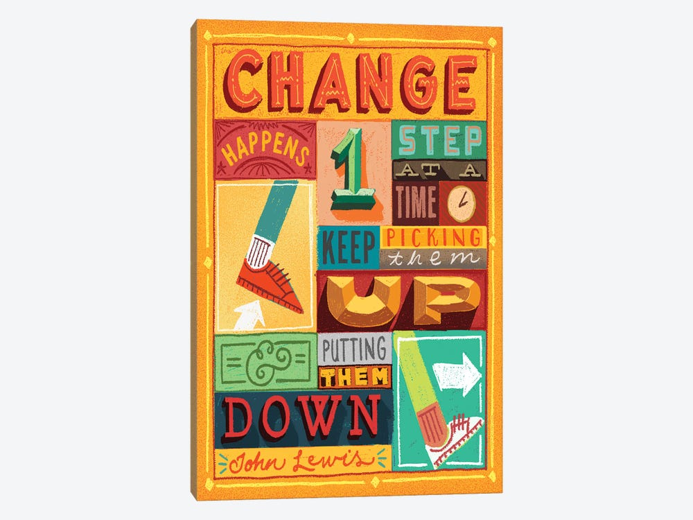 Teaching Tolerance by Jeff Rogers 1-piece Art Print