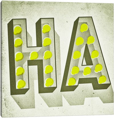HA Canvas Art Print