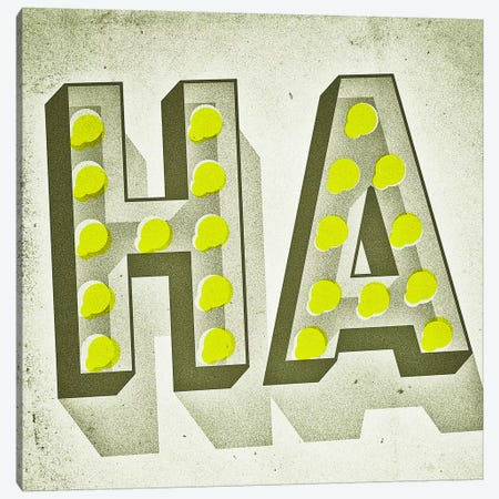 HA 3-Piece Canvas #JEF7} by Jeff Rogers Art Print
