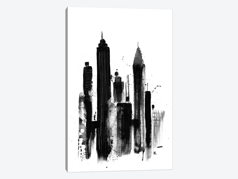 New York I by Jeff Rogers 1-piece Canvas Print