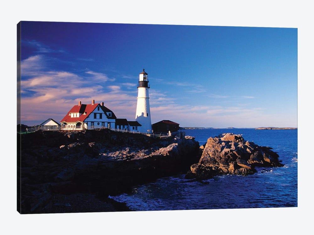 Portland Head Light II, Cape Elizabeth, Cumberland County, Maine, USA by Julie Eggers 1-piece Canvas Art Print