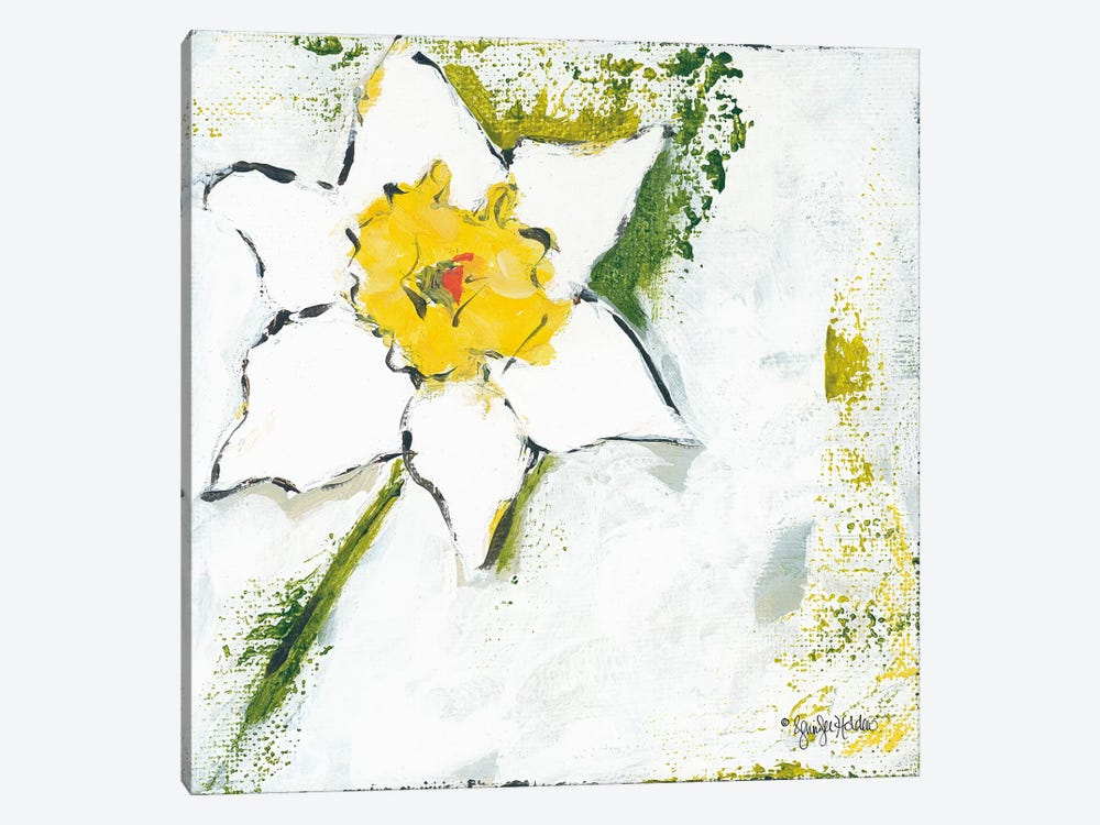 Spring Has Sprung I by Jennifer Holden 1-piece Canvas Print