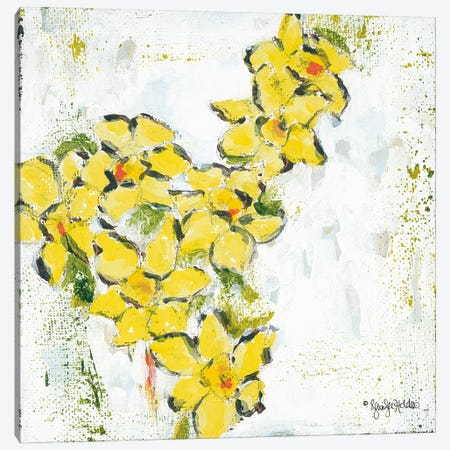Spring Has Sprung IV Canvas Print #JEH13} by Jennifer Holden Art Print