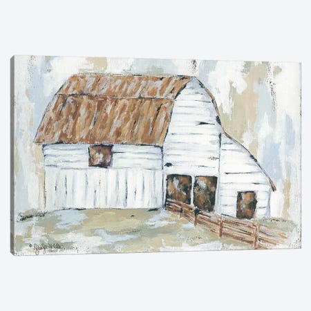 Spring Joy Farm Canvas Print #JEH14} by Jennifer Holden Canvas Wall Art