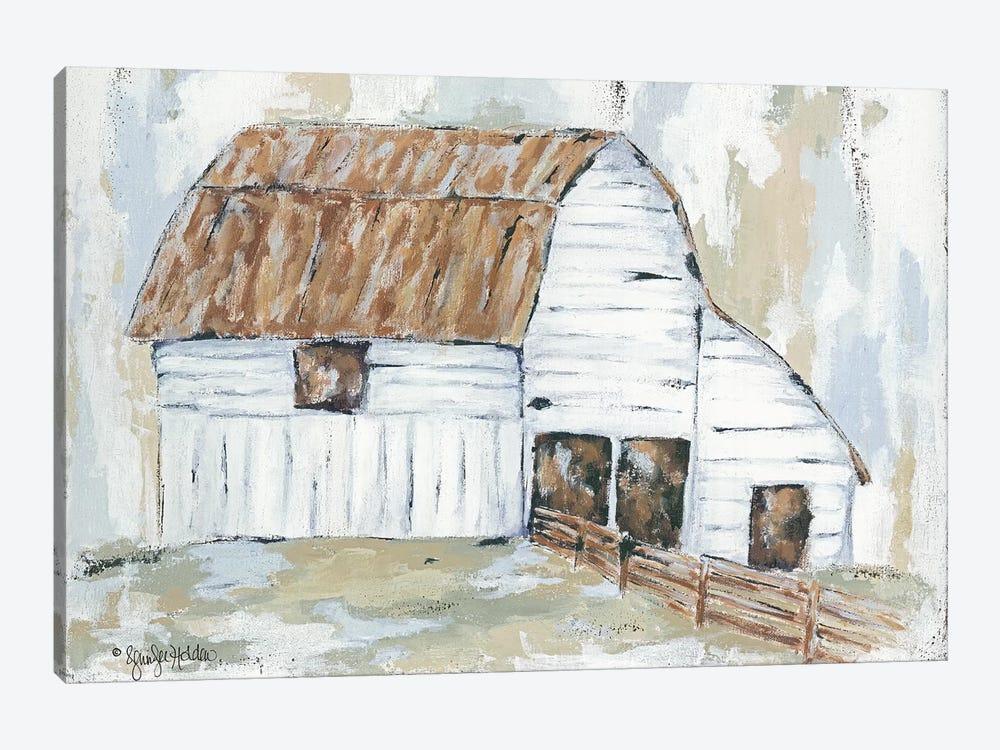 Spring Joy Farm by Jennifer Holden 1-piece Canvas Art Print