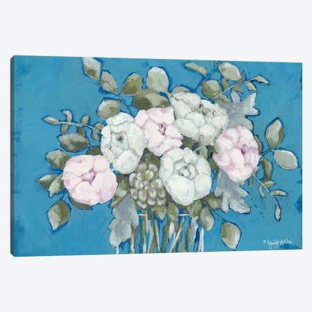 Summer's Bouquet Canvas Print #JEH19} by Jennifer Holden Canvas Art Print
