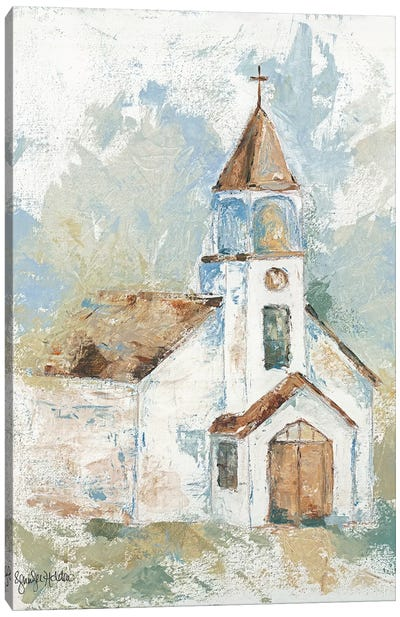 Blessed Assurance Canvas Art Print