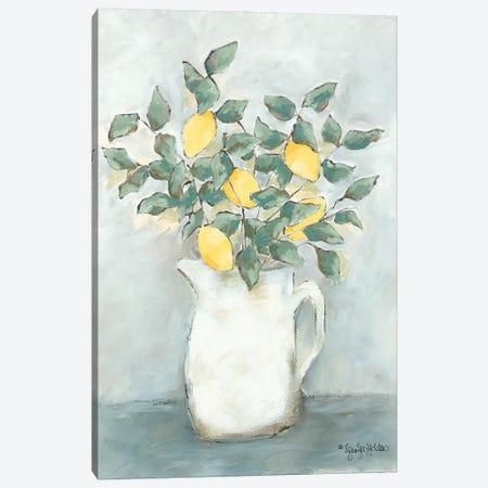 Fresh Picked Canvas Print #JEH24} by Jennifer Holden Art Print